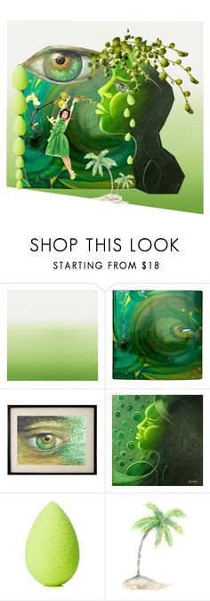 """""""Out on a Limb"""" by petalp ❤ liked on Polyvore featuring Designers Guild, NOVICA, beautyblender and art"""