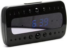 Full High-Def 1080p Wifi Mini-Clock Spy Camera