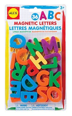 ALEX Toys Artist Studio Magnetic Letters helps any child have fun and learn the alphabet! See how many words you can come up with using bright, color… Wholesale Craft Supplies, Craft Supplies Online, Arts And Crafts Supplies, Alphabet Activities, Toddler Activities, Toddler Preschool, Alphabet Magnets, Magnetic Letters, Circuit