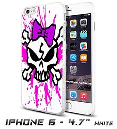 Pink Skull Bow collection #8Cool iPhone 6 - 4.7 Inch Smartphone Case Cover Collector iphone TPU Rubber Case White [By PhoneAholic] Phoneaholic http://www.amazon.com/dp/B00XYOV6RU/ref=cm_sw_r_pi_dp_IIExvb0HDBR5E