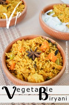 Today I am sharing a simple and delicious recipe, Biryani, which is nothing but rice cooked with spices and vegetables that has a rich taste and is served with yogurt condiment. This is a quick and easy one-pot meal.