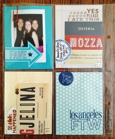 PL layout by Kelly Purkey featuring lots of KP stamps and sequins
