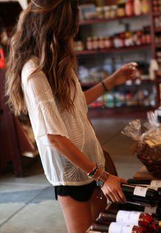 Wine and friendship bracelets