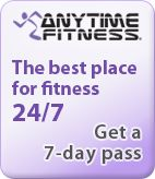 """Anytime Fitness ... I guess if I went regularly and didn't eat chocolate cake it might make a difference.  But I LOVE the set up, the vibes, and the """"do your own thing"""" atmosphere."""
