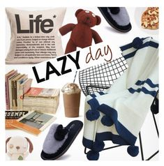 """""""Sleep In: Lazy Day"""" by pokadoll ❤ liked on Polyvore"""