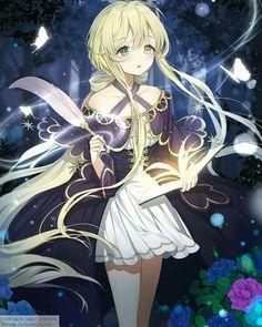 Anime Girl Cute, Girls Anime, Beautiful Anime Girl, Kawaii Anime Girl, Anime Art Girl, Manga Girl, Lolis Neko, Anime Neko, Anime Witch