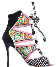 Nicholas Kirkwood for Peter Pilotto Sandals in Pink, £795