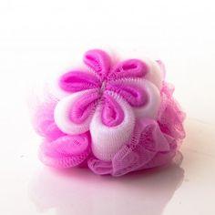 Esponja de Banho - Material Nylon - Tema Flor