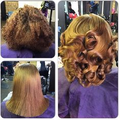 STYLIST FEATURE| Love this #transformation done by #PhillyStylist @SoShearGenius Hair color and curls are on point #VoiceOfHair ========================= Go to VoiceOfHair.com ========================= Find hairstyles and hair tips! =========================