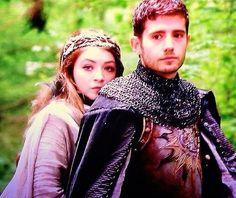 First Look at Julian Morris as Prince Phillip and Sarah Bolger as Princess Aurora.