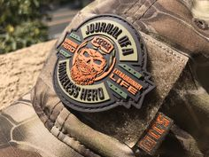 Exclusive Patch - Journal of a Homeless Hero Funny Patches, Velcro Patches, Cool Patches, Pin And Patches, Tactical Knives, Tactical Gear, Army Wallpaper, Morale Patch, Military Gear