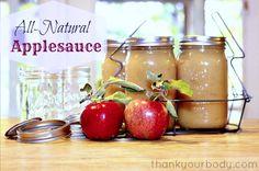 Recipe: All Natural, Organic Applesauce