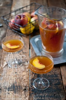 Beer Sangria - The perfect summer cocktail for the craft beer enthusiast (as long as they aren't a purist).