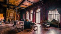 Inside Howey Mansion