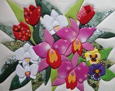 Thanksgiving Crafts and Ideas for Kids Hand Applique, Flower Applique, Applique Quilts, Embroidery Applique, Applique Designs, Quilting Designs, Embroidery Designs, Easy Thanksgiving Crafts, Japanese Quilts