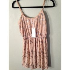 NWT dress NWT cream dress size small Lush Dresses