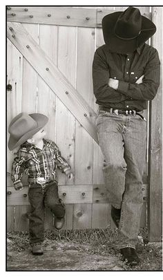 Like Father...Like Son. This may be the cutest picture I have ever seen!