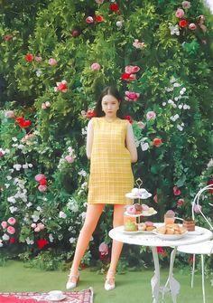 Apink Naeun, Pink Panda, Cute Anime Chibi, Fashion 2020, Simple Dresses, Korean Girl, Girl Group, Photoshoot, Memories