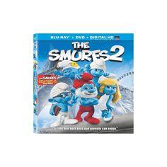 The Smurfs 2 (2 Discs) (Includes Digital Copy) (UltraViolet) (Blu-ray/Dvd)