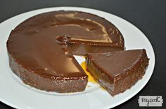 Quesillo de chocolate - http://www.mycookrecetas.com/quesillo-de-chocolate/