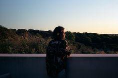 In situ : Villa Extramuros, Portugal ,  #acnejeans #alentejo #analog #architecture #insitu #modernism #sunset #view #villaextramuros