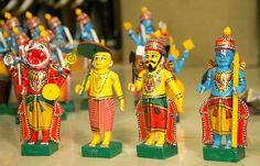 Handicrafts in India / Indian Crafts - Channapatna and Kondapalli – Popular Towns in Manufacturing of Wooden Toys