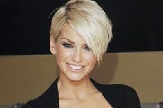 sarah harding Bob Haircuts for Fine Hair Bob Haircut For Fine Hair, Short Haircuts With Bangs, Hairstyles With Bangs, Pretty Hairstyles, Short Hair Cuts, Long Bangs, Bob Haircuts, Pixie Cuts, Sarah Harding
