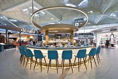 Halo, Stansted, UK | Restaurant Interior Design Ideas. Restaurant Dining Chairs. Restaurant Lighting Ideas. Dining Room Chairs. #restaurantinterior #restaurantinteriors www.brabbucontract.com