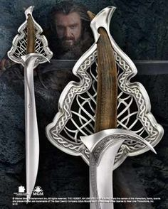 Orcrist, the sword of the Dwarf Lord Thorin Oakenshield; from the Noble Collection
