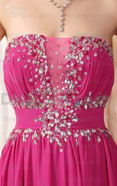 No Risk Shopping Chiffon Evening Dress A-line Strapless Beaded Floor Length Colorful Party Dresses