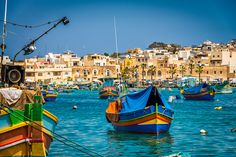 Marsaxlokk Harbour - Malta | #stock #photography #gettyimages #print #travel |