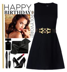 """""""Untitled #409"""" by veronica7777 ❤ liked on Polyvore featuring RED Valentino, Avon, Victoria Beckham, Dolce&Gabbana, Lancôme, Smashbox, Narciso Rodriguez, contestentry and happybirthdaypolyvore"""