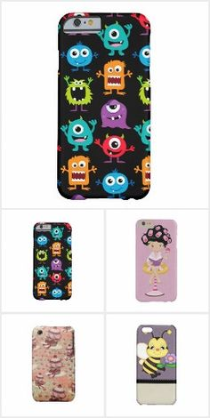 Fun Phone Covers in popular brand names.  Click to view assortment of designs for all.  Personalize for free.
