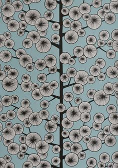 Cotton Tree Wallpaper from Miss Print