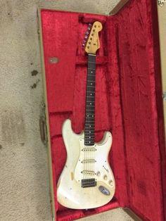 fender stratocaster Strat Guitar, Fender Stratocaster, Guitars, Fender Vintage, Guitar