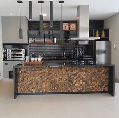 Trendy Home Word Decor Small Spaces Ideas Urban House, Best Kitchen Design, Outdoor Living Rooms, Living Spaces, Exterior Remodel, Garage Exterior, Garage Remodel, Kitchen Trends, Trendy Home
