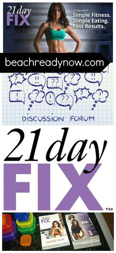 21 Day Fix Discussion Forum #21DayFix #21DayFixRecipes