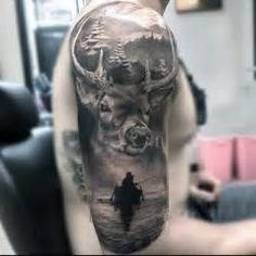 Image result for hunting tattoos for men