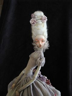 RESERVED  OOAK Art Doll Rosemari by tirelessartist on Etsy