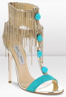 Jimmy Choo Cruise 2013.... just can't stop looking at these awesome chain heels... simply wow!