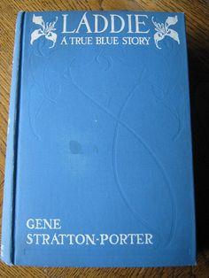 Vintage book Laddie a True Blue Story Gene by vintageboxofdelights