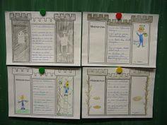 """Minimärchen verfassen   Als Abschluss der Projektwoche """"Märchen"""" haben die Kinder meiner Klasse kleine Minimärchen verfasst, die aus nur fü..."""