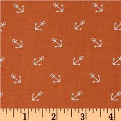Anchors Away Tossed Anchors Orange