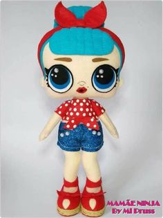 """Oiiii, Tudo Bem???? A boneca LOL Surprise é fabricada nos EUA, mas virou uma """"febre"""" no Brasil entre as crianças, porém são vendidas tã... Felt Crafts, Diy And Crafts, Funny Birthday Cakes, Baby Alive Food, Felt Baby, Sewing Dolls, Lol Dolls, Cute Toys, Candy Gifts"""