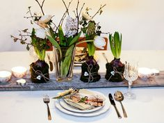 early spring table settings | Flickr - Photo Sharing!