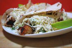 Mahi-Mahi Tacos with Slaw
