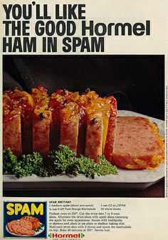 Spam Brittany.  You can dress it up with a pretty name like Brittany, but it's still Spam.  (1966)