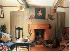 beautiful fireplace- love!