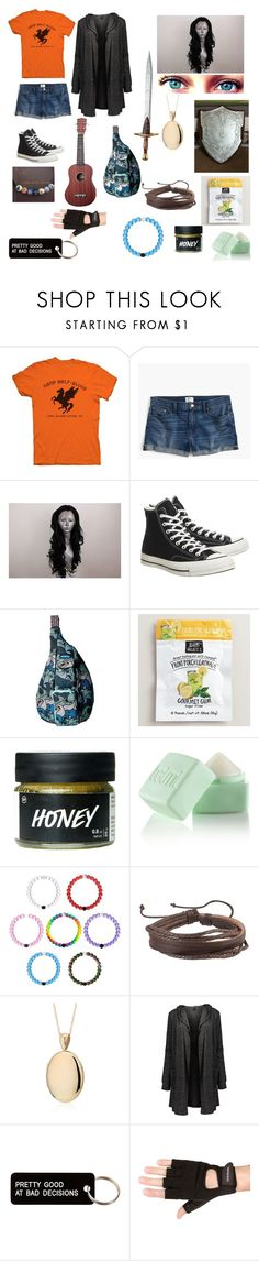 """""""emma"""" by koalamacaron ❤ liked on Polyvore featuring J.Crew, Converse, Kavu, Balmi, Zodaca, Blue Nile, Various Projects and Travelon"""