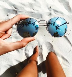 things i love sunglasses beach summer vacation reflection